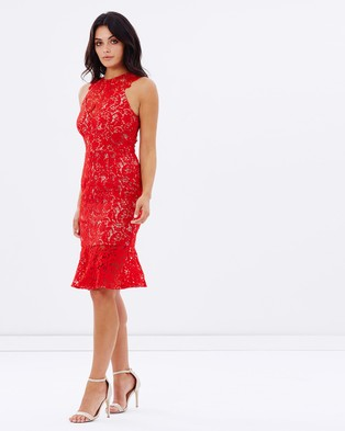 Cooper St – EXCLUSIVE Faithful Lace Dress – Dresses (Red)