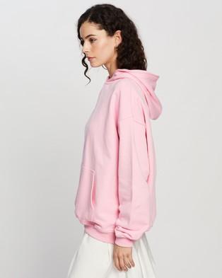 Dazie - Keep It Up Hoodie Hoodies (Pink)