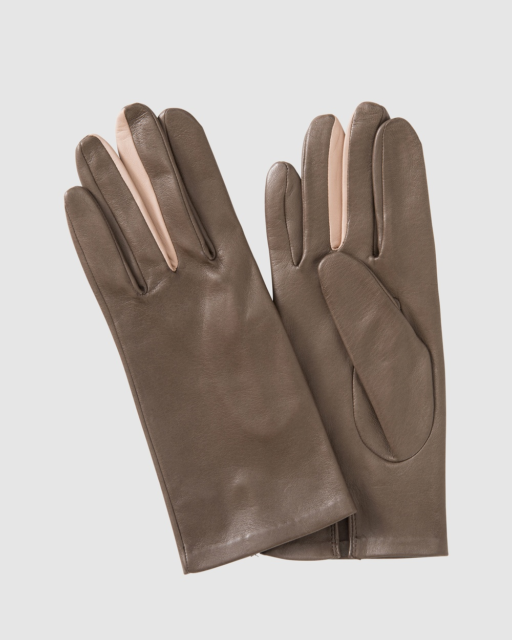 Kate & Confusion Wanderer Ladies Leather Gloves Outdoor Taupe