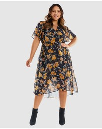 Estelle - Lily Wrap Dress