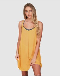 Roxy - Womens Chillday Strappy Beach Dress