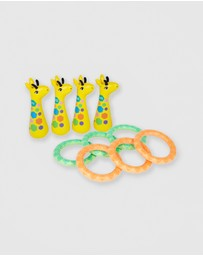Sunnylife - Inflatable Giraffe Ring Toss Set