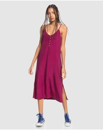 Quiksilver - Womens Coral Spring Strappy Midi Dress
