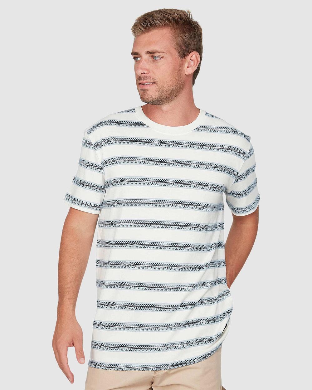 Quiksilver - Mens Key T Shirt - T-Shirts & Singlets (KEY JAQUARD STR WZB1) Mens Key T Shirt