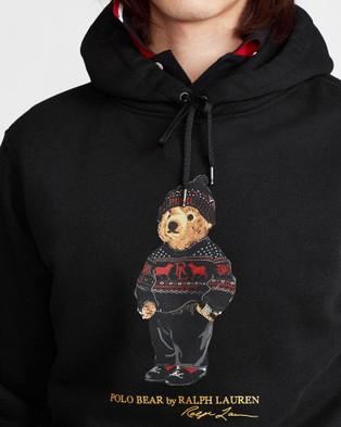 Polo Ralph Lauren Magic Fleece Long Sleeve Knit Hoodie - Hoodies (Polo Black)
