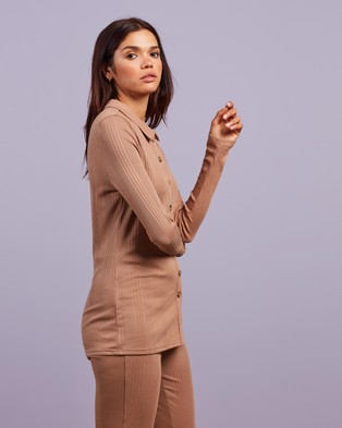 4th & Reckless Rogue Top - Tops (Nude Jersey)