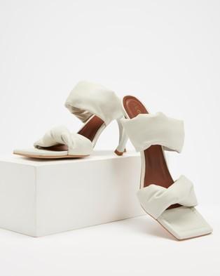 Alohas Sandals Twist Strap - Sandals (White)
