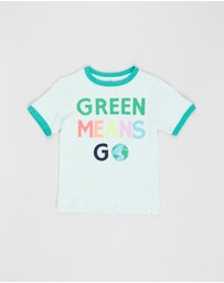 babyGap - Short Sleeve Earth Day Ringer T-Shirt - Babies-Kids