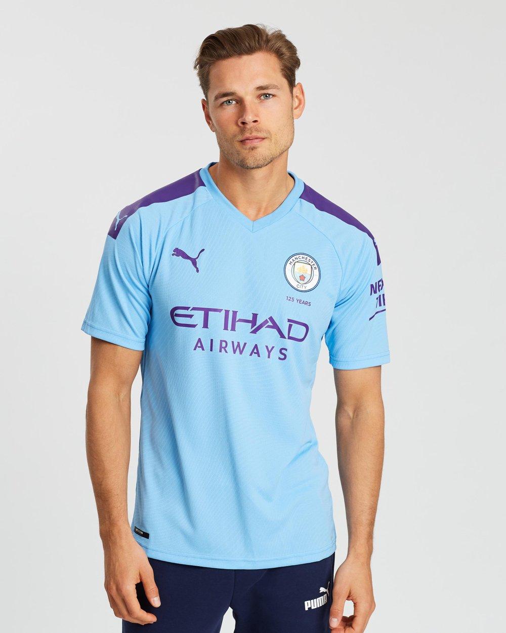 online retailer 10366 9ced6 Manchester City FC Home Replica Jersey