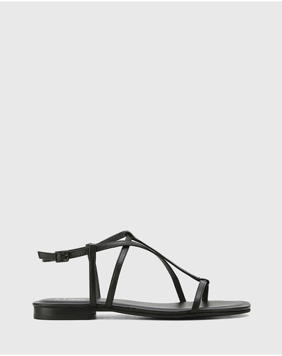 Wittner - Cass Leather Flat Sandals