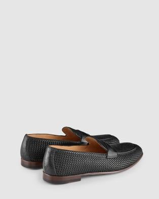 Aquila - Damiano Penny Loafers Flats (Black)