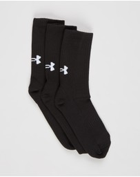 Under Armour - Core Crew Socks - 3 Pack