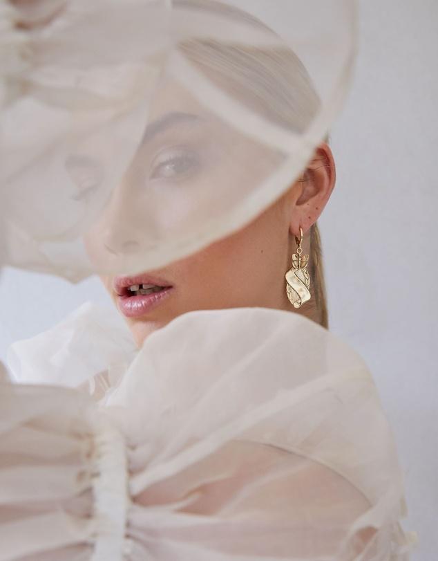 Women Monarch Earrings