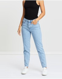 Assembly Label - High Waisted Rigid Jeans