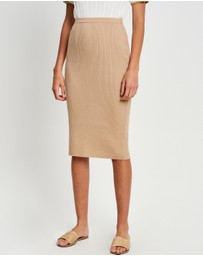 The Fated - Josette Knit Skirt