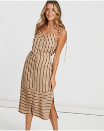 Alys - Bailey Button Front Shift Dress