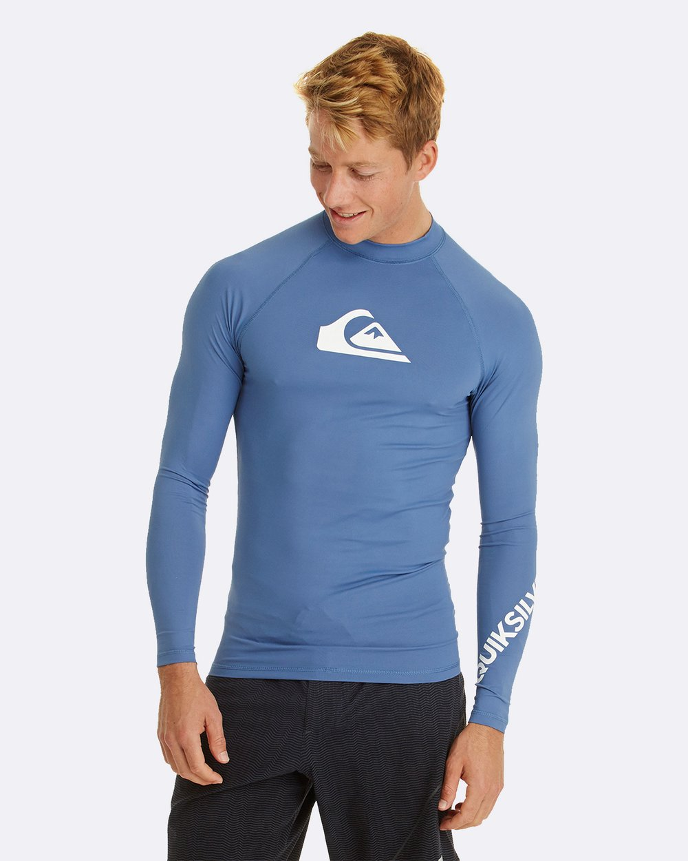 cb6c1b200a308c Mens All Time Long Sleeve UPF 50 Rash Vest by Quiksilver Online   THE  ICONIC   Australia