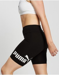 Puma - Essentials Logo Short Tights