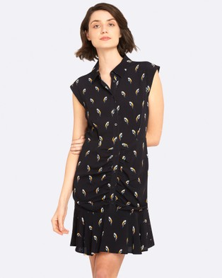 Oxford – Pippa Bird Print Dress