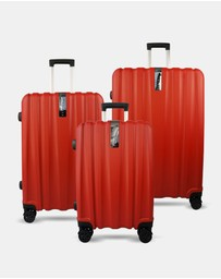 JETT BLACK - Ruby Knight Series Luggage Set