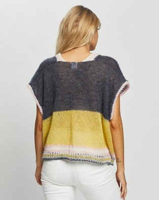 Love and Light The Label Lennon Vest - Tops (Yellow)