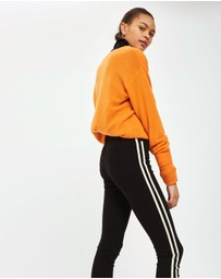 TOPSHOP - MOTO Side Striped Jamie Jeans