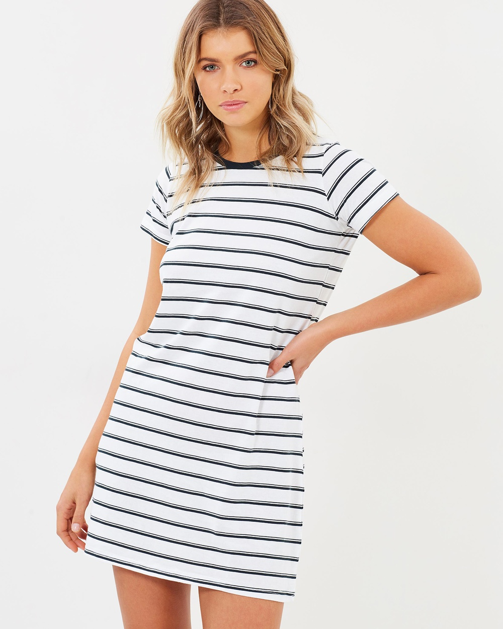 Tee Ink Barton Fisherman Tee Dress Dresses Stripe Barton Fisherman Tee Dress