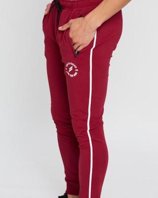 Doyoueven Elite Pants - Track Pants (Burgundy)