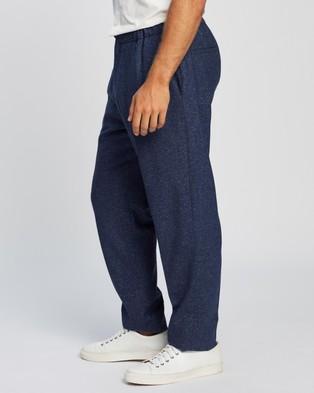 Ben Sherman Mid Blue Speckle Trousers - Pants (Blue)
