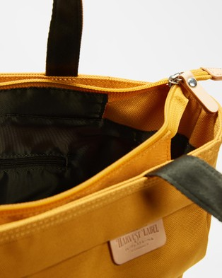 Harvest Label Lycee Style Tote Portrait - Bags (Mustard)