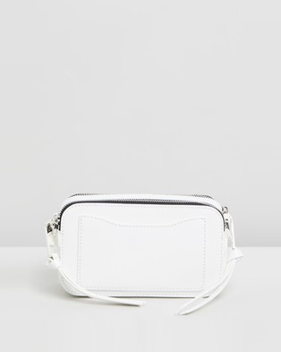 The Marc Jacobs Snapshot DTM Cross Body Bag - Clutches (White)