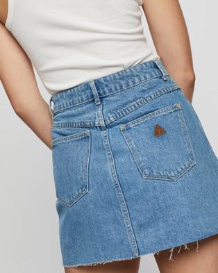 Abrand A Aline Skirt - Denim skirts (Walkin' On)