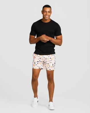 Vacay Swimwear Cancun Swim Shorts - Swimwear (Orange)