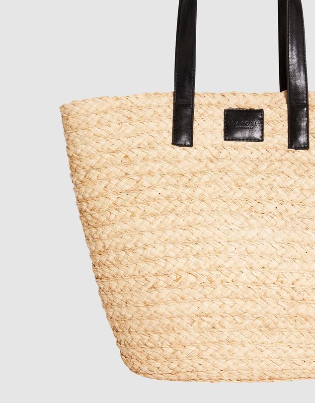 Women Raffia Basket Bag
