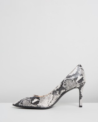 Naturalizer Anna - All Pumps (Black & White Snake)