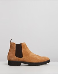 Double Oak Mills - Thompson Suede Gusset Boots