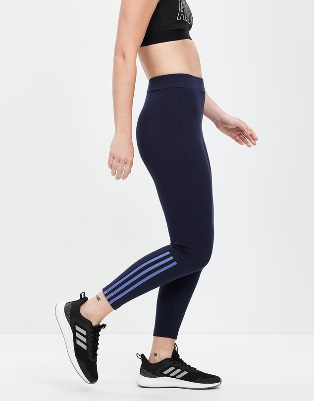 Women Essentials Fitted 3-Stripes 7/8 Tights