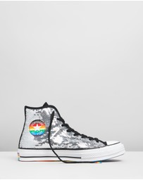 Converse - Chuck Taylor All Star 70 Pride Flippable Sequin High Tops
