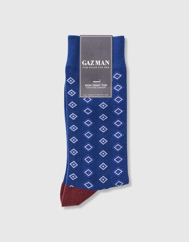 Men Non Tight Comfort Diamond Sock