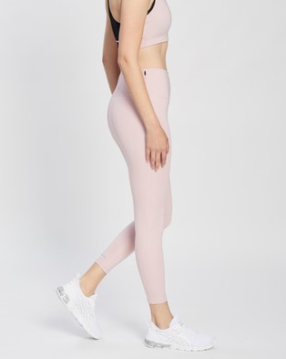 ASICS New Strong High Waist Tights - Full Tights (Ginger Peach)