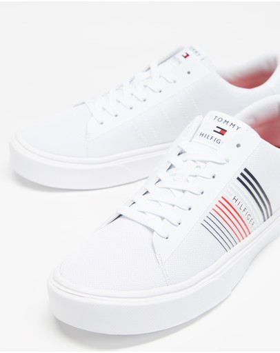 Tommy Hilfiger - Lightweight Stripes Knit Sneakers