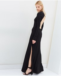 Michael Lo Sordo - Backless Jersey Maxi Dress