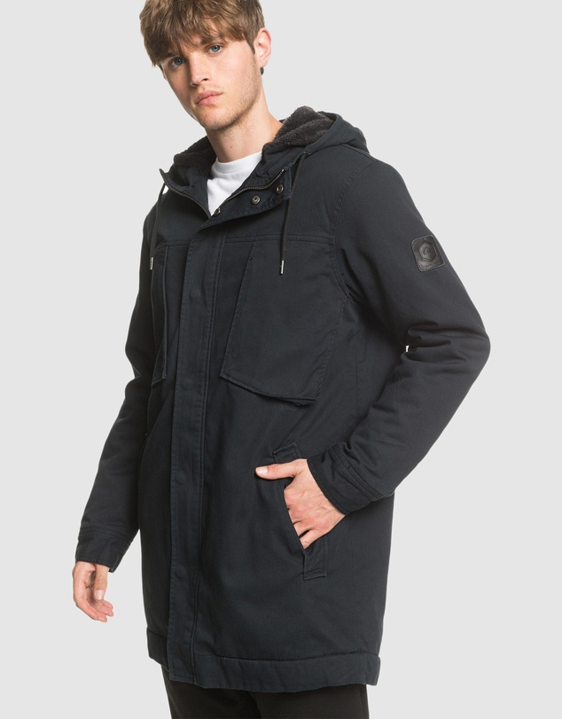 Quiksilver - Mens Magesty Crush Hooded Jacket