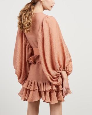 Shona Joy - Charlotte Draped Mini Dress - Dresses (Desert Rose) Charlotte Draped Mini Dress