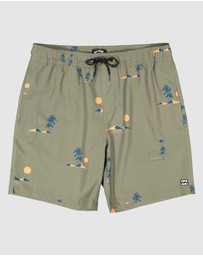Billabong - Groms Sundays Layback Boardshorts
