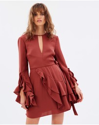 C/MEO COLLECTIVE - Gossamer LS Dress