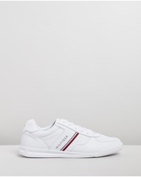 Tommy Hilfiger - Lightweight Leather Sneakers