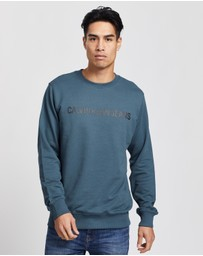 Calvin Klein Jeans - Institutional Logo Regular Crew-Neck