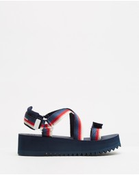 Tommy Hilfiger - Degrade Tape Sandals