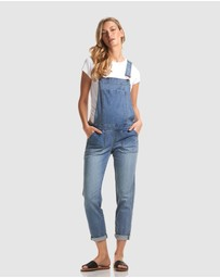 Soon Maternity - Alice Denim Overalls